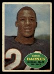 1960 Topps #19  Erich Barnes  Front Thumbnail