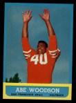 1963 Topps #141  Abe Woodson  Front Thumbnail