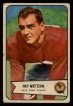 1954 Bowman #31  Ray Wietecha  Front Thumbnail