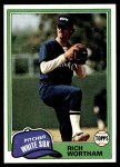 1981 Topps #107  Rich Wortham  Front Thumbnail