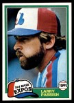 1981 Topps #15  Larry Parrish  Front Thumbnail