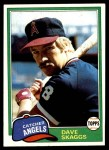 1981 Topps #48  Dave Skaggs  Front Thumbnail