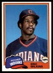 1981 Topps #99  Eric Wilkins  Front Thumbnail