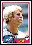 1981 Topps #440  Jerry Reuss  Front Thumbnail