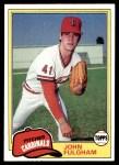 1981 Topps #523  John Fulgham  Front Thumbnail