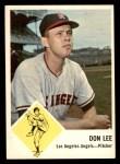 1963 Fleer #18  Don Lee  Front Thumbnail