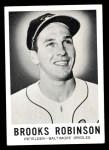 1960 Leaf #27  Brooks Robinson  Front Thumbnail