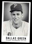1960 Leaf #52  Dallas Green   Front Thumbnail