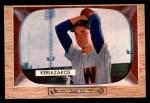 1955 Bowman #14  Gus Keriazakos  Front Thumbnail