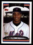 2006 Topps #296   -  Anderson Hernandez Rookie Card Front Thumbnail