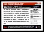 2006 Topps #294   Texas Rangers Team Back Thumbnail
