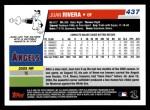 2006 Topps #437  Juan Rivera  Back Thumbnail