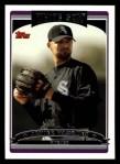 2006 Topps #579  Javier Vazquez  Front Thumbnail