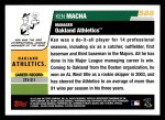 2006 Topps #588  Ken Macha  Back Thumbnail