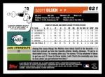 2006 Topps #621   -  Scott Olsen Rookie Card Back Thumbnail