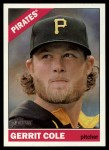 2015 Topps Heritage #425  Gerrit Cole  Front Thumbnail