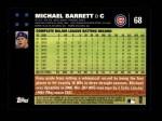 2007 Topps #68  Michael Barrett  Back Thumbnail