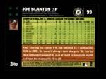 2007 Topps #99  Joe Blanton  Back Thumbnail