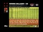 2007 Topps #551  Ronnie Belliard  Back Thumbnail