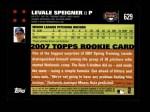 2007 Topps #629  Levale Speigner  Back Thumbnail
