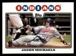 2008 Topps #63  Jason Michaels  Front Thumbnail