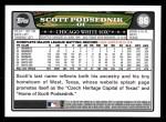 2008 Topps #86  Scott Podsednik  Back Thumbnail