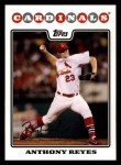 2008 Topps #272  Anthony Reyes  Front Thumbnail