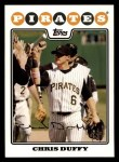 2008 Topps #301  Chris Duffy  Front Thumbnail