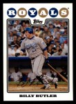 2008 Topps #429  Billy Butler  Front Thumbnail