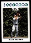 2008 Topps #524  Raul Ibanez  Front Thumbnail