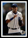 2009 Topps #76  Marcus Thames  Front Thumbnail