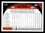 2009 Topps #153  Lastings Milledge  Back Thumbnail