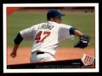 2009 Topps #105  Francisco Liriano  Front Thumbnail