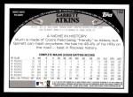 2009 Topps #102  Garrett Atkins  Back Thumbnail