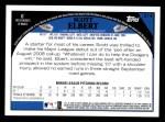 2009 Topps #214  Scott Elbert  Back Thumbnail