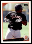 2009 Topps #426  Pablo Sandoval  Front Thumbnail