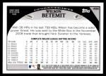 2009 Topps #466  Wilson Betemit  Back Thumbnail
