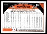2009 Topps #509  Lou Montanez  Back Thumbnail