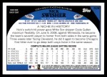 2009 Topps #528  Nick Swisher  Back Thumbnail