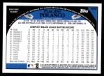 2009 Topps #599  Placido Polanco  Back Thumbnail