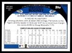 2009 Topps #529  Fernando Rodney  Back Thumbnail