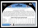 2009 Topps #640  B.J. Upton  Back Thumbnail