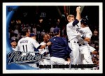 2010 Topps #167   Padres Team Front Thumbnail