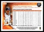 2010 Topps #277  Jarrod Washburn  Back Thumbnail