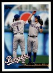 2010 Topps #204   -  Elvis Andrus / Ian Kinsler Turning Two for Texas Front Thumbnail