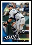 2010 Topps #224  Rod Barajas  Front Thumbnail