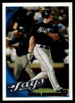 2010 Topps #289  Lyle Overbay  Front Thumbnail