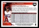 2010 Topps #388  Joel Pineiro  Back Thumbnail