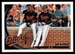 2010 Topps #543   -  Adam Jones / Nick Markakis Bird Watching Front Thumbnail