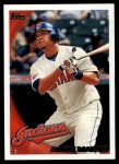 2010 Topps #505  Andy Marte  Front Thumbnail